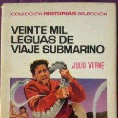 Tebeos: HISTORIAS SELECCIÓN, Nº 1 - 20.000 LEGUAS DE VIAJE SUBMARINO, EDIT. BRUGUERA (1967). Lote 199089077
