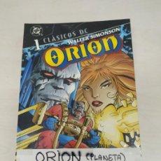 Tebeos: ORION (CLASICOS DC) COLECCIÓN COMPLETA 5 TOMOS, EDITORIAL PLANNETA.. Lote 269128078