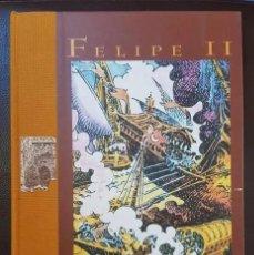 Tebeos: FELIPE II (PANDORA, 1999), REALIZADO POR EL MAESTRO A.H.PALACIOS (UNA JOYA), VER FOTOS Y DESCRIPCIÓN. Lote 199180005