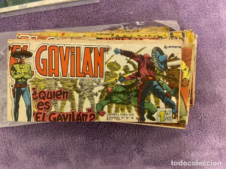 EL GAVILAN LOTE Nº 1-2-3-4-5-6-7-8-9-11-12-13-14-15-17-18-20-21-22-24 Y 25 SE VENDEN SUELTOS (Tebeos y Comics - Tebeos Colecciones y Lotes Avanzados)