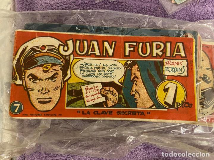 JUAN FURIA Nº 3-4-6-7-9-10-12-13-15 SE VENDEN SUELTOS (Tebeos y Comics - Tebeos Colecciones y Lotes Avanzados)