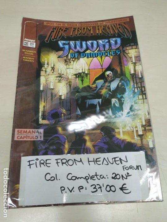 FIRE FROM HEAVEN (SWORD OF DAMOCLES) COLECCIÓN COMPLETA 20 Nº, EDITORIAL PLANETA. (Tebeos y Comics - Tebeos Colecciones y Lotes Avanzados)