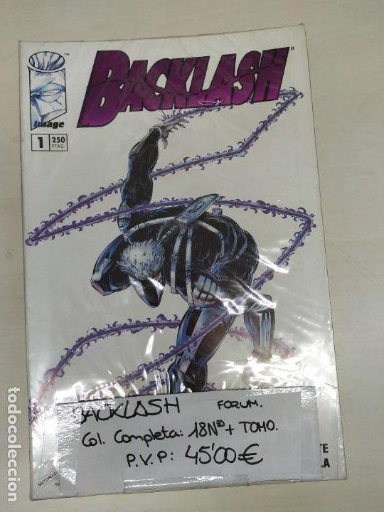BACKLASH , COLECCIÓN COMPLETA 18 Nº MÁS 1 PRESTIGIO, EDITORIAL PLANETA (Tebeos y Comics - Tebeos Colecciones y Lotes Avanzados)