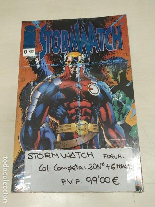 STORMWATCH, COLECCIÓN COMPLETA 20 Nº MÁS 6 PRESTIGIOS, EDITORIAL PLANETA. (Tebeos y Comics - Tebeos Colecciones y Lotes Avanzados)