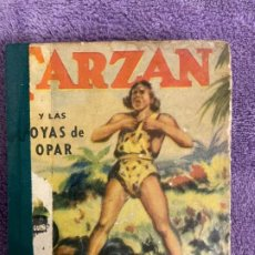 Giornalini: PEQUEÑOS GRANDES LIBROS TARZAN TEBEO AÑOS 40. Lote 199435486