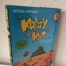 Tebeos: KRAZY CAT - ANTOLOGÍA - EDICIONES ESEUVE - ART COMICS - 1990 - EDICIÓN LUJO Y NUMERADA - ¡NUEVO!. Lote 200163421