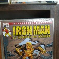 Livros de Banda Desenhada: IRON MAN-EL HOMBRE DE HIERRO(BIBLIOTECA MARVEL), COLECCIÓN COMPLETA 28 Nº, EDITORIAL PANINI.. Lote 202451306