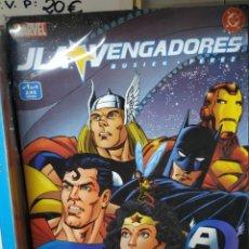 Livros de Banda Desenhada: JLA VERSUS VENGADORES, MARVEL-DC, MINI SERIE 4 Nº, EDITORIAL FORUM.. Lote 202581025