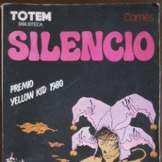 Tebeos: TOTEM BIBLIOTECA, SILENCIO DE DIDIER COMÉS - PREMIO YELLOW KID 1980 - VER DESCRIPCIÓN Y FOTOS. Lote 202626931