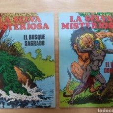 Tebeos: LOTE 2 COMICS LA SELVA MISTERIOSA - EL BOSQUE SAGRADO - EL VALLE DORMIDO. Lote 202892120