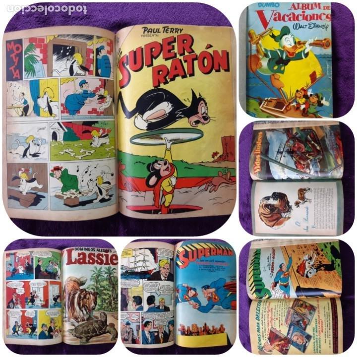 EXCELENTE TOMO CON 11 TEBEOS MUY DIFÍCILES DE REUNIR VER FOTOS Y NÚMEROS (Tebeos y Comics - Tebeos Pequeños Lotes de Conjunto)