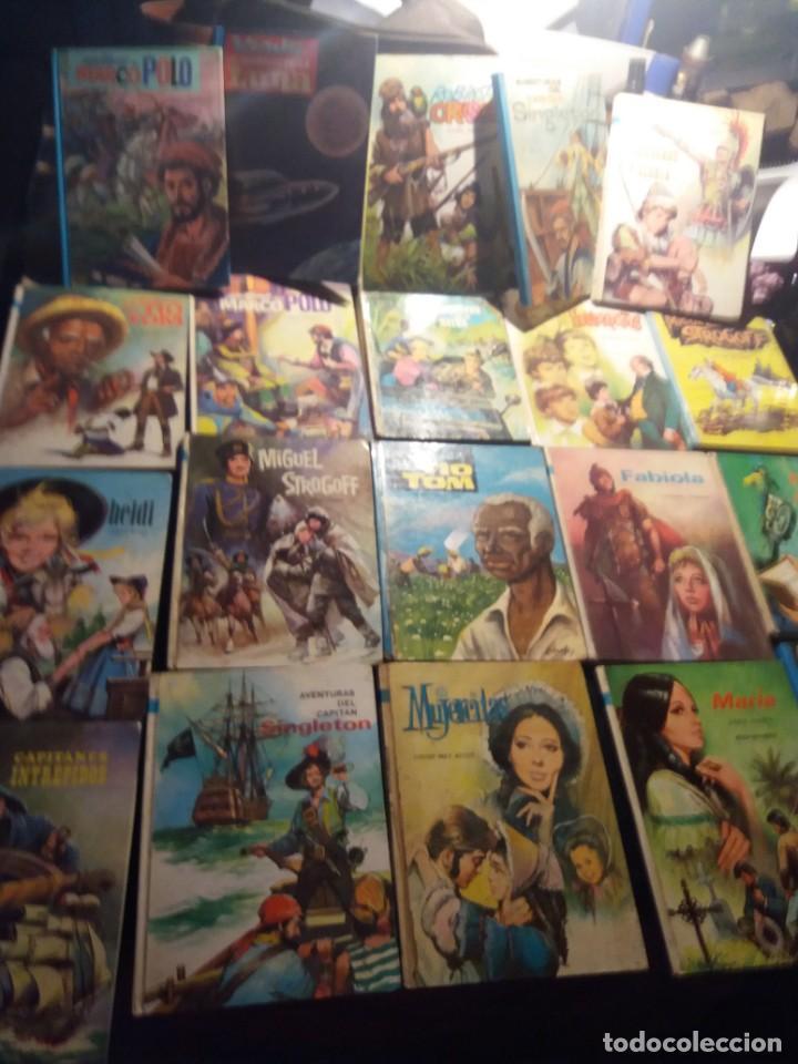 ANTIGUA COLECCIÓN DE LIBRO-CUENTOS PERSONAJES FAMOSOS (Tebeos y Comics - Tebeos Pequeños Lotes de Conjunto)