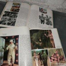 Tebeos: PAREJA DE TOMOS 1 Y 2 DE HISTORIA DEL CINE,( BURU LAN ) AÑOS 70. Lote 203728333