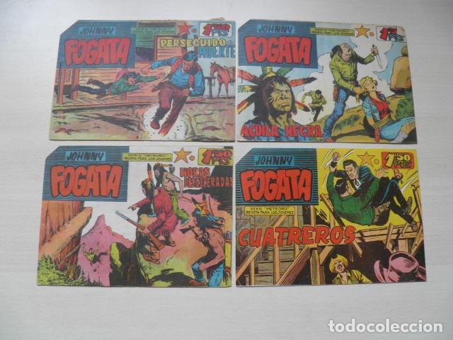 LOTE DE JHONNY FOGATA (Tebeos y Comics - Tebeos Colecciones y Lotes Avanzados)