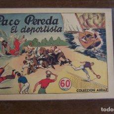 Tebeos: HISPANO AMERICANA, PACO PEREDA, COMPLETA EN SUS 2 Nº , AÑOS CUARENTA. Lote 203769883