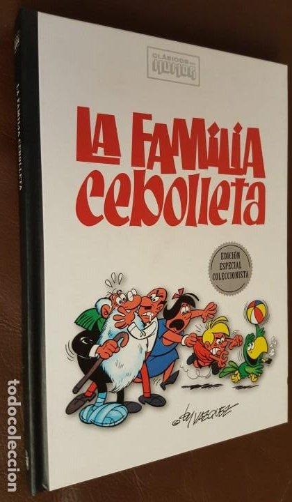 CLÁSICOS DEL HUMOR, LA FAMILIA CEBOLLETA (VAZQUEZ) - RBA (2009) EXCELENTE (Tebeos y Comics - Tebeos Colecciones y Lotes Avanzados)