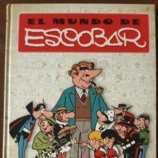 Tebeos: EL MUNDO DE ESCOBAR (EDICIONES B, 2008) DE ANTONIO GUIRAL. 1ª EDICIÓN DE 2008 - VER DESCRIPCIÓN. Lote 203822056