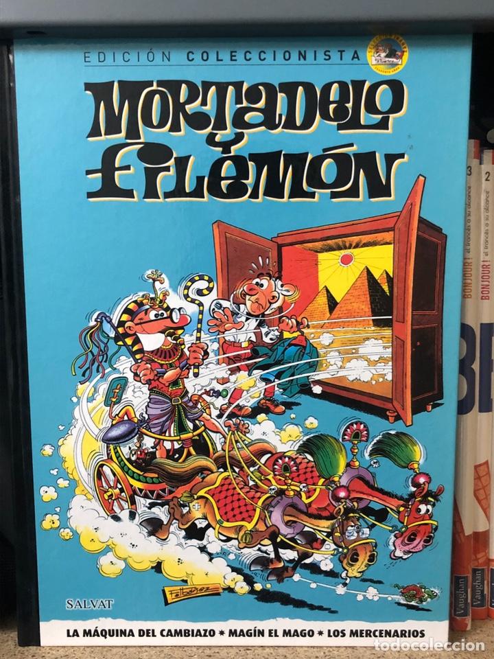 MORTADELO Y FILEMÓN, SALVAT EDICIÓN COLECCIONISTA - 70 TOMOS DE 80 (Tebeos y Comics - Tebeos Colecciones y Lotes Avanzados)