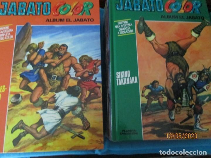 JABATO COLOR PLANETA LOTE DE 31 TOMOS TAPA DURA (Tebeos y Comics - Tebeos Colecciones y Lotes Avanzados)