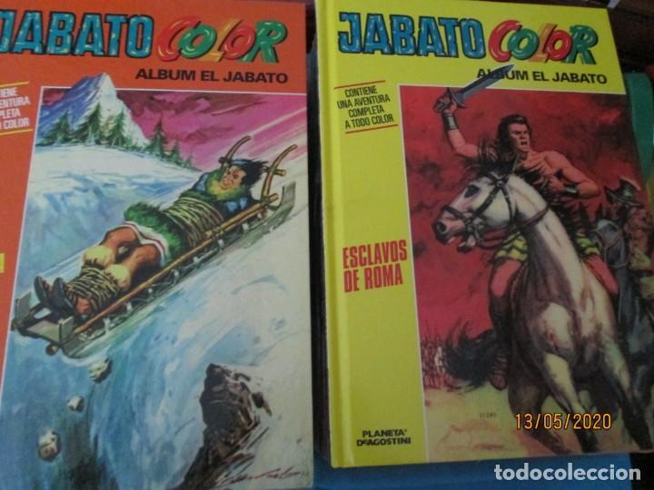 Tebeos: JABATO COLOR PLANETA LOTE DE 31 TOMOS TAPA DURA - Foto 8 - 204034625
