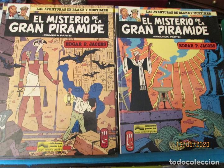 LAS AVENTURAS DE BLAKE Y MORTIMER DE P. JACOBS (Tebeos y Comics - Tebeos Colecciones y Lotes Avanzados)