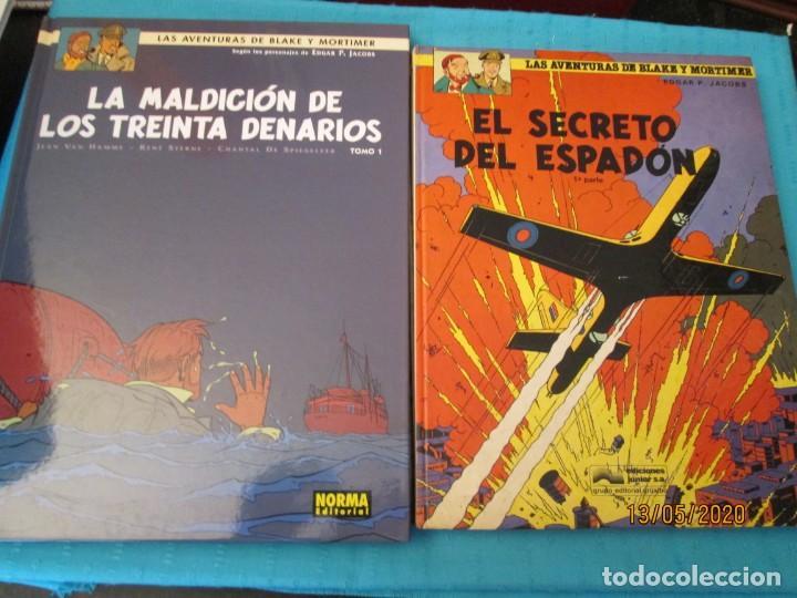 Tebeos: LAS AVENTURAS DE BLAKE Y MORTIMER DE P. JACOBS - Foto 9 - 204055038