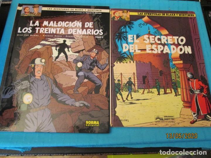 Tebeos: LAS AVENTURAS DE BLAKE Y MORTIMER DE P. JACOBS - Foto 10 - 204055038