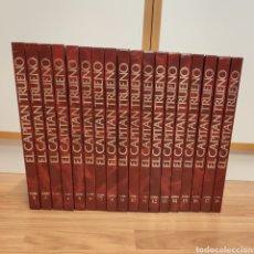 Tebeos: EL CAPITÁN TRUENO - EDICIÓN HISTÓRICA - COMPLETA 18 TOMOS. Lote 204195996