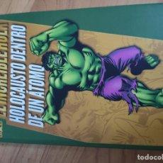 Livros de Banda Desenhada: CÓMIC. MARVEL GOLD EL INCREÍBLE HULK HOLOCAUSTO DENTRO DE UN ÁTOMO. MUY BUEN ESTADO.. Lote 204420273