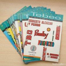 Tebeos: LOTE 16 NÚMEROS HISTORIA DEL TEBEO VALENCIANO. Lote 204527220