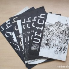 Tebeos: LOTE DE 10 NÚMEROS DE URICH - MADRID COMICS Nº 1 A 8, 11, 12 Y UNO SIN NUMERACIÓN. Lote 204528370
