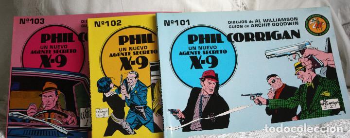 AGENTE SECRETO X-9. PHIL CORRIGAN (Tebeos y Comics - Tebeos Colecciones y Lotes Avanzados)