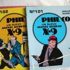 Tebeos: AGENTE SECRETO X-9. PHIL CORRIGAN. Lote 204553705