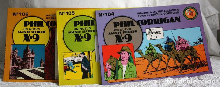 Tebeos: AGENTE SECRETO X-9. PHIL CORRIGAN - Foto 2 - 204553705