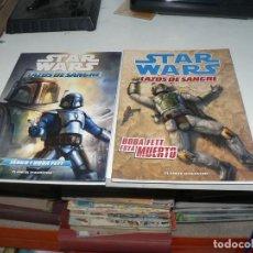 Livros de Banda Desenhada: STAR WARS LAZOS DE SANGRE 2 TOMOS. Lote 204774908