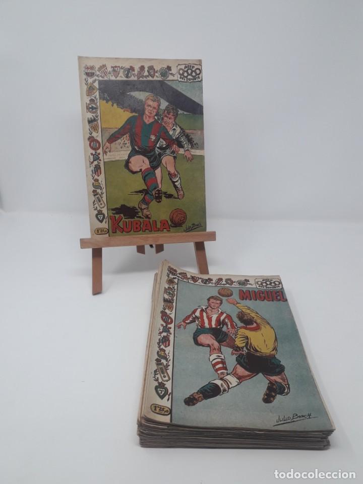 COLECCIÓN COMPLETA ASES DEL DEPORTE ORIGINAL RICART (46/46 NÚMEROS) MUY DIFÍCIL! (Tebeos y Comics - Tebeos Colecciones y Lotes Avanzados)
