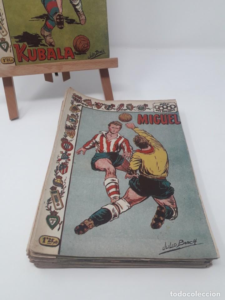 Tebeos: Colección completa Ases del Deporte ORIGINAL Ricart (46/46 números) Muy difícil! - Foto 3 - 204795143