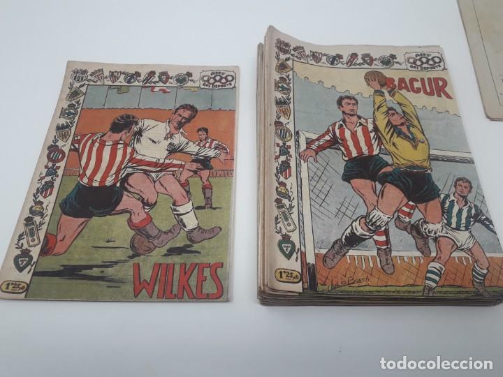 Tebeos: Colección completa Ases del Deporte ORIGINAL Ricart (46/46 números) Muy difícil! - Foto 4 - 204795143