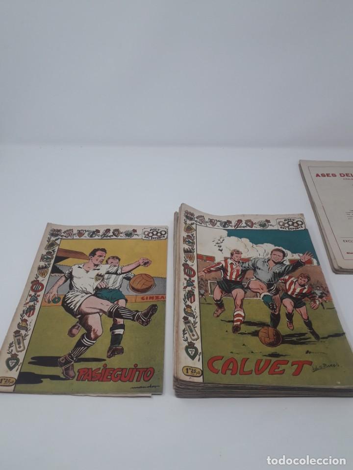 Tebeos: Colección completa Ases del Deporte ORIGINAL Ricart (46/46 números) Muy difícil! - Foto 6 - 204795143