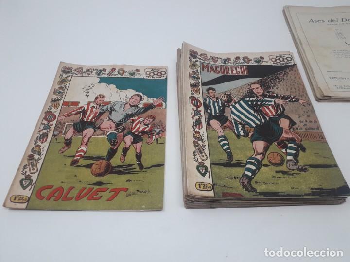 Tebeos: Colección completa Ases del Deporte ORIGINAL Ricart (46/46 números) Muy difícil! - Foto 7 - 204795143