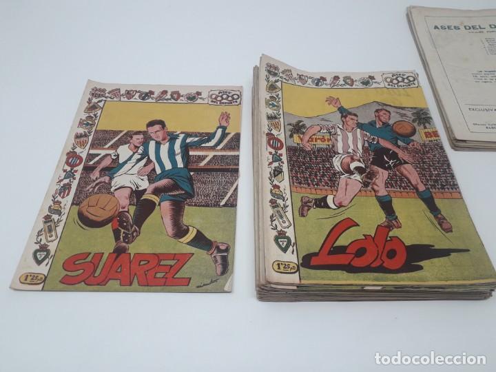 Tebeos: Colección completa Ases del Deporte ORIGINAL Ricart (46/46 números) Muy difícil! - Foto 8 - 204795143