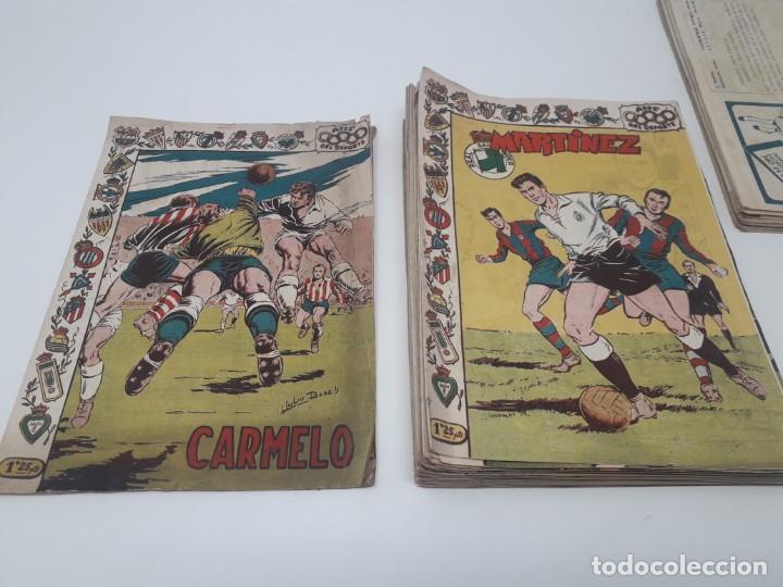 Tebeos: Colección completa Ases del Deporte ORIGINAL Ricart (46/46 números) Muy difícil! - Foto 9 - 204795143