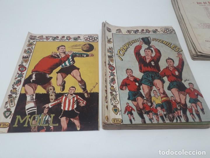 Tebeos: Colección completa Ases del Deporte ORIGINAL Ricart (46/46 números) Muy difícil! - Foto 11 - 204795143