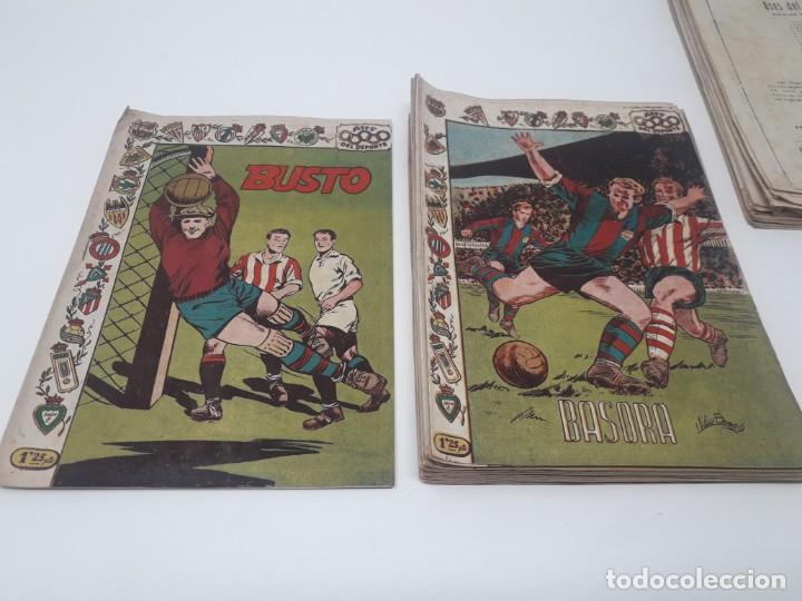 Tebeos: Colección completa Ases del Deporte ORIGINAL Ricart (46/46 números) Muy difícil! - Foto 12 - 204795143