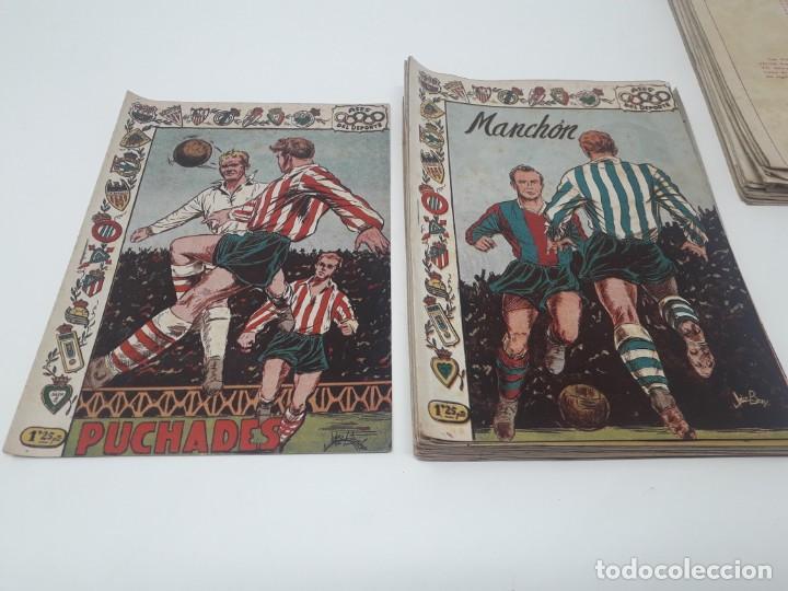 Tebeos: Colección completa Ases del Deporte ORIGINAL Ricart (46/46 números) Muy difícil! - Foto 13 - 204795143