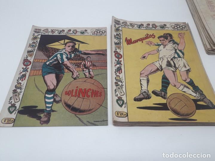 Tebeos: Colección completa Ases del Deporte ORIGINAL Ricart (46/46 números) Muy difícil! - Foto 15 - 204795143