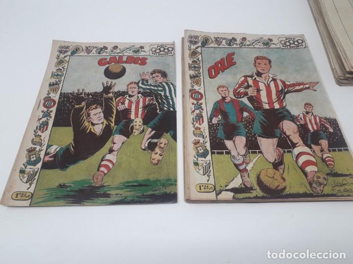 Tebeos: Colección completa Ases del Deporte ORIGINAL Ricart (46/46 números) Muy difícil! - Foto 21 - 204795143