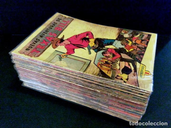 TEXAS BILL (H. AMERICANA 1954). LAS AVENTURAS DE TEX MAS DESCONOCIDAS EN ESPAÑOL. (Tebeos y Comics - Tebeos Colecciones y Lotes Avanzados)