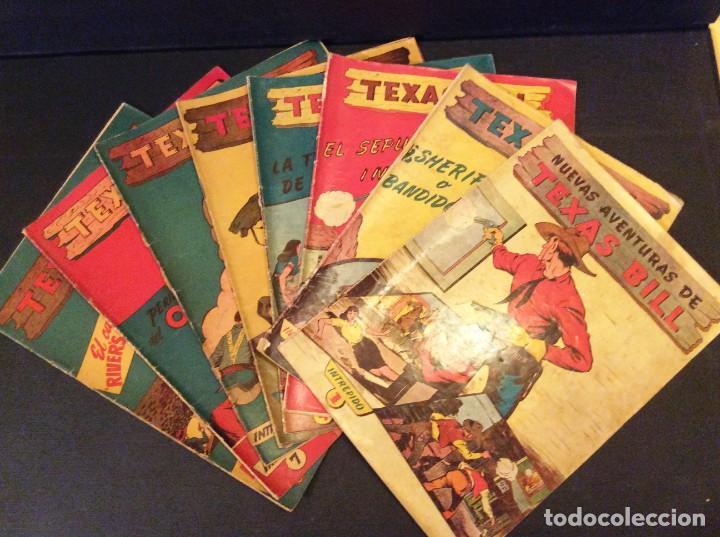 Tebeos: TEXAS BILL (H. AMERICANA 1954). LAS AVENTURAS DE TEX MAS DESCONOCIDAS EN ESPAÑOL. - Foto 4 - 205330535