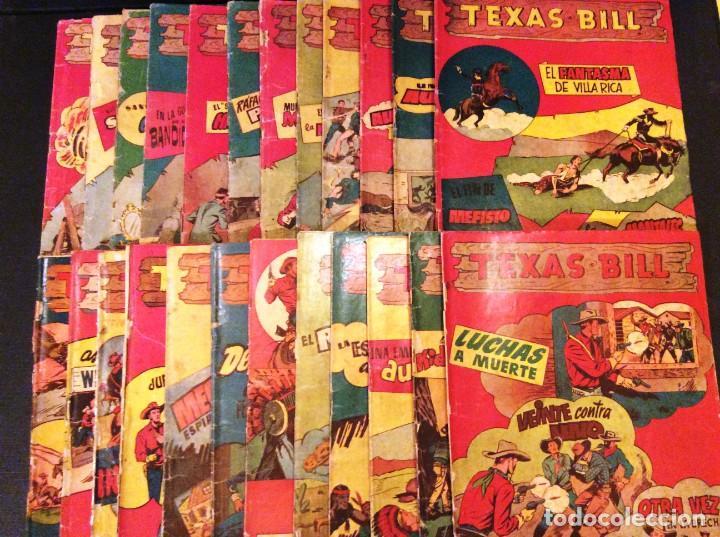 Tebeos: TEXAS BILL (H. AMERICANA 1954). LAS AVENTURAS DE TEX MAS DESCONOCIDAS EN ESPAÑOL. - Foto 6 - 205330535